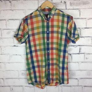 Ben Sherman multi color plaid shirt